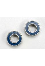 Traxxas Ball bearings, blue rubber sealed (6x12x4mm) (2), TRX5117