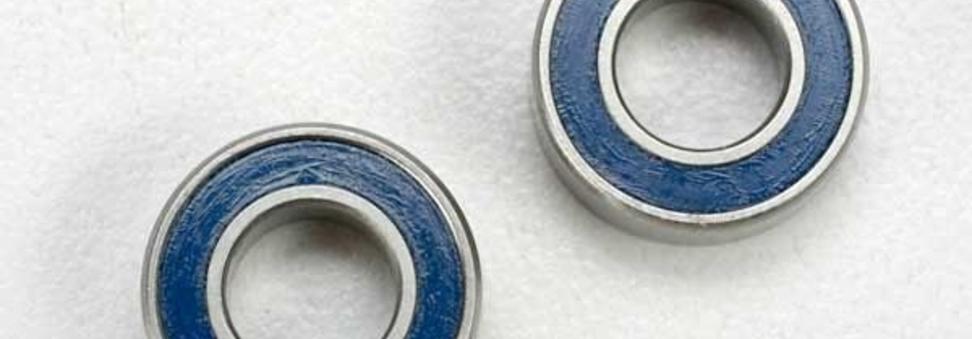 Ball bearings, blue rubber sealed (6x12x4mm) (2), TRX5117
