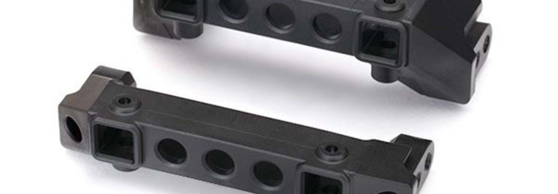 Bumper mounts, front & rear/ screw pins (4), TRX8237