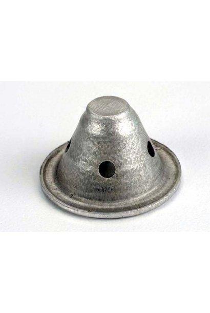 Baffle cone, exhaust (1) (aluminum), TRX3153