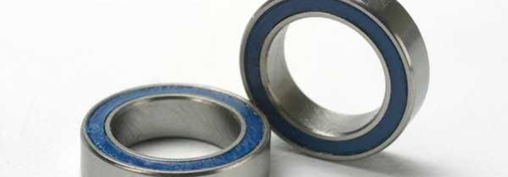 Ball bearings, blue rubber sealed (10x15x4mm) (2), TRX5119