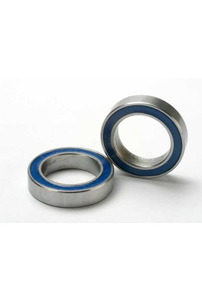 Ball bearings, blue rubber sealed (12x18x4mm) (2), TRX5120