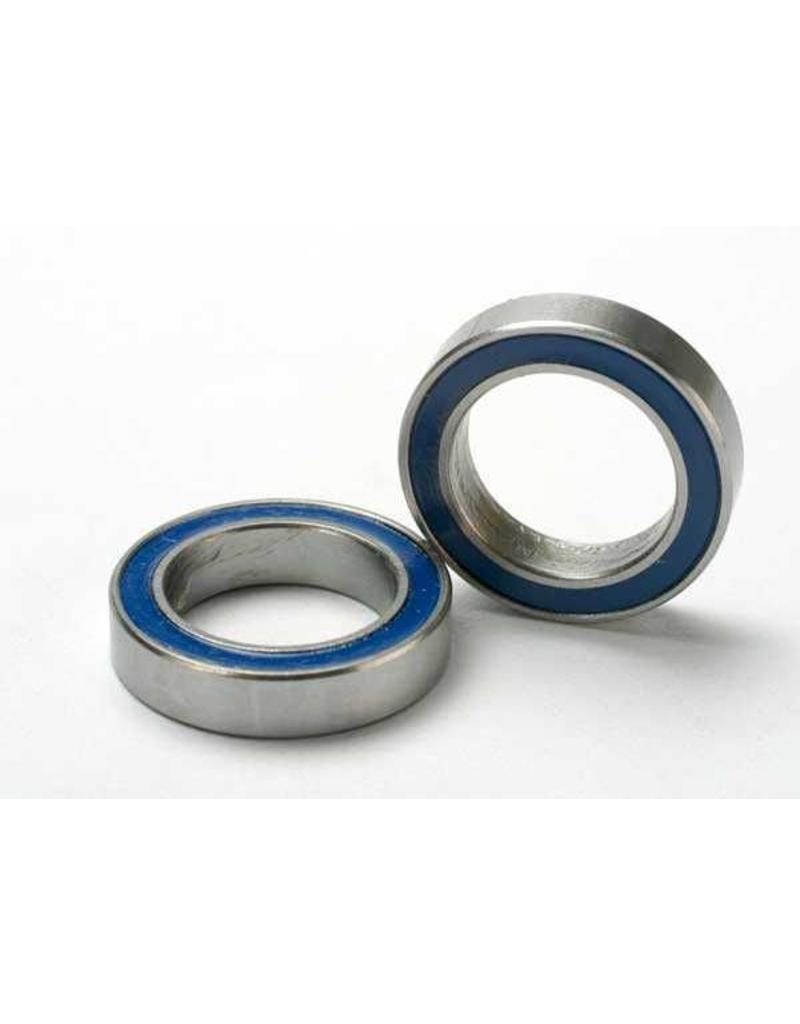Traxxas Ball bearings, blue rubber sealed (12x18x4mm) (2), TRX5120