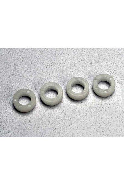 Bellcrank bushings (plastic) (4x7x2.5mm) (4), TRX5123