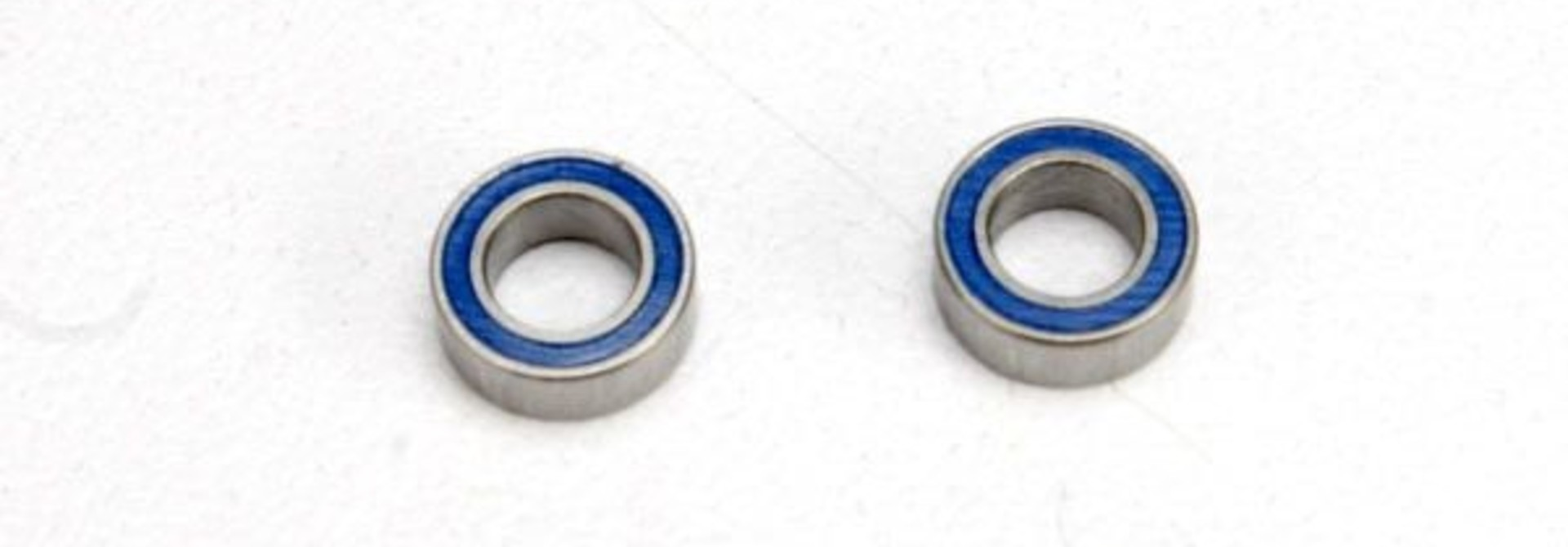 Ball bearings, blue rubber sealed (4x7x2.5mm) (2), TRX5124