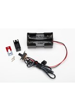 Traxxas Battery Holder, 4-Cell /Switch, TRX3170X