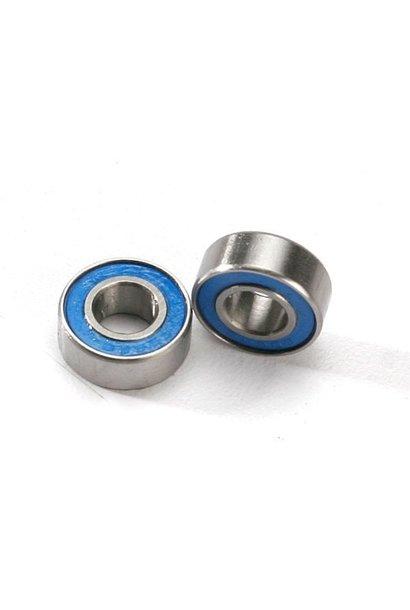 Ball bearings, blue rubber sealed (6x13x5mm) (2), TRX5180