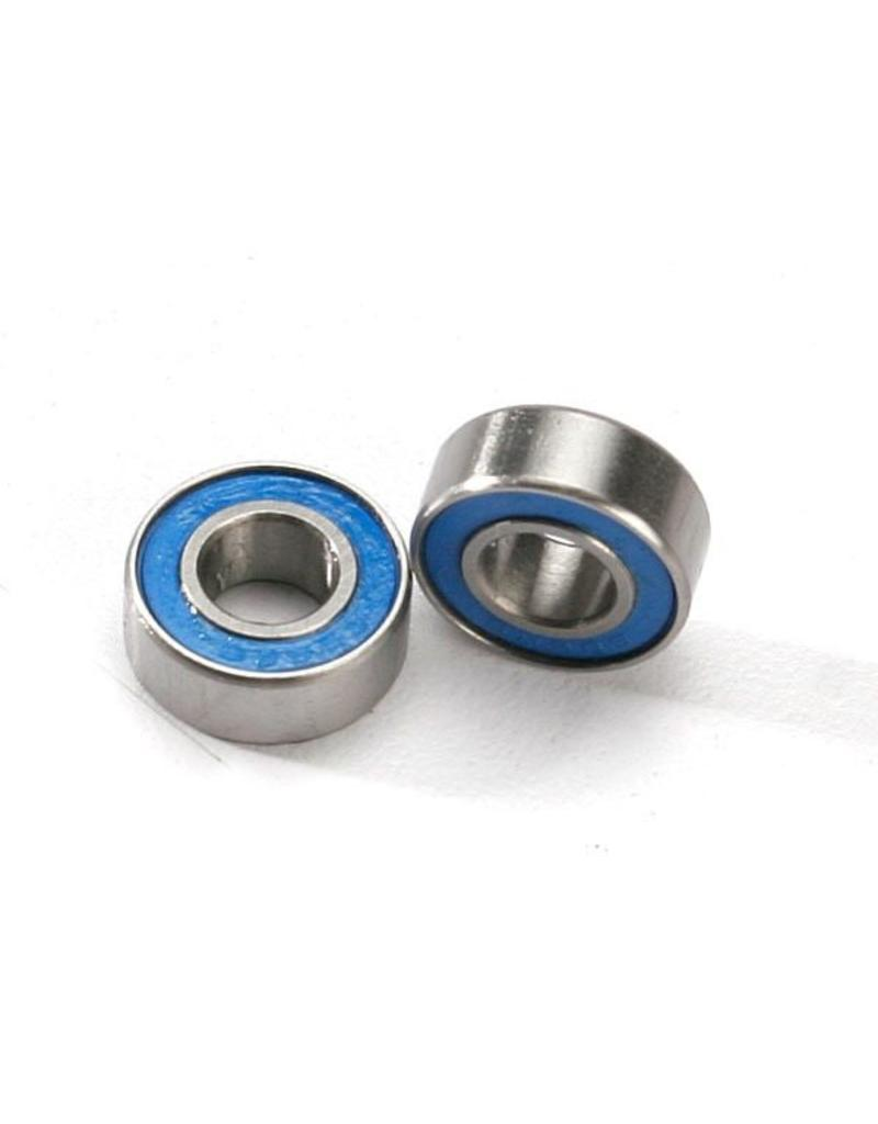 Traxxas Ball bearings, blue rubber sealed (6x13x5mm) (2), TRX5180