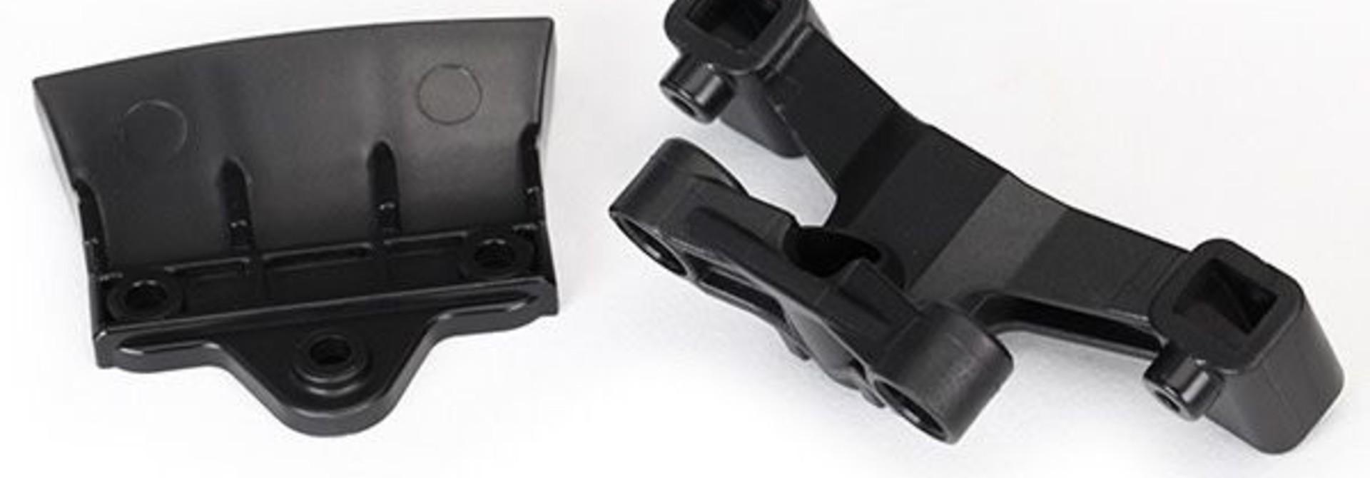 Bumper, rear (1)/ rear body mount (1), TRX8336