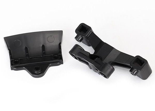 Bumper, rear (1)/ rear body mount (1), TRX8336-1