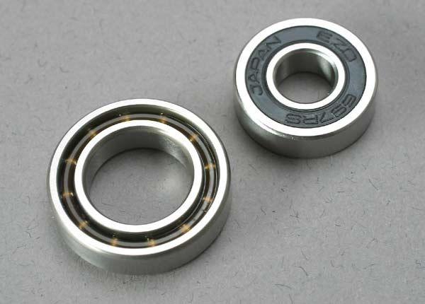 Ball bearings (7x17x5mm) (1)/ 12x21x5mm (1) (TRX 3.3, 2.5R,, TRX5223-1
