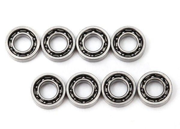 Bearings, 3X6X2Mm (8) Bearings, 3X6X2M, TRX6642-1