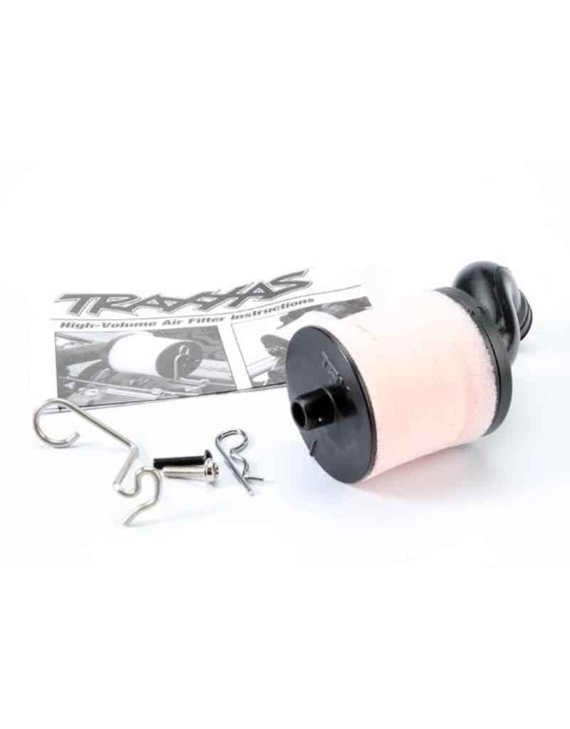 Traxxas Air filter body (high-volume)/ filter support/ cap/ foam fil, TRX5267
