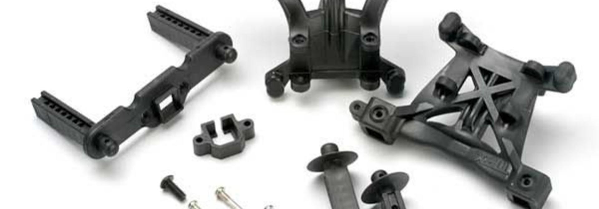 Body mounts, front & rear/ body mount posts, front & rear/ 2, TRX5314