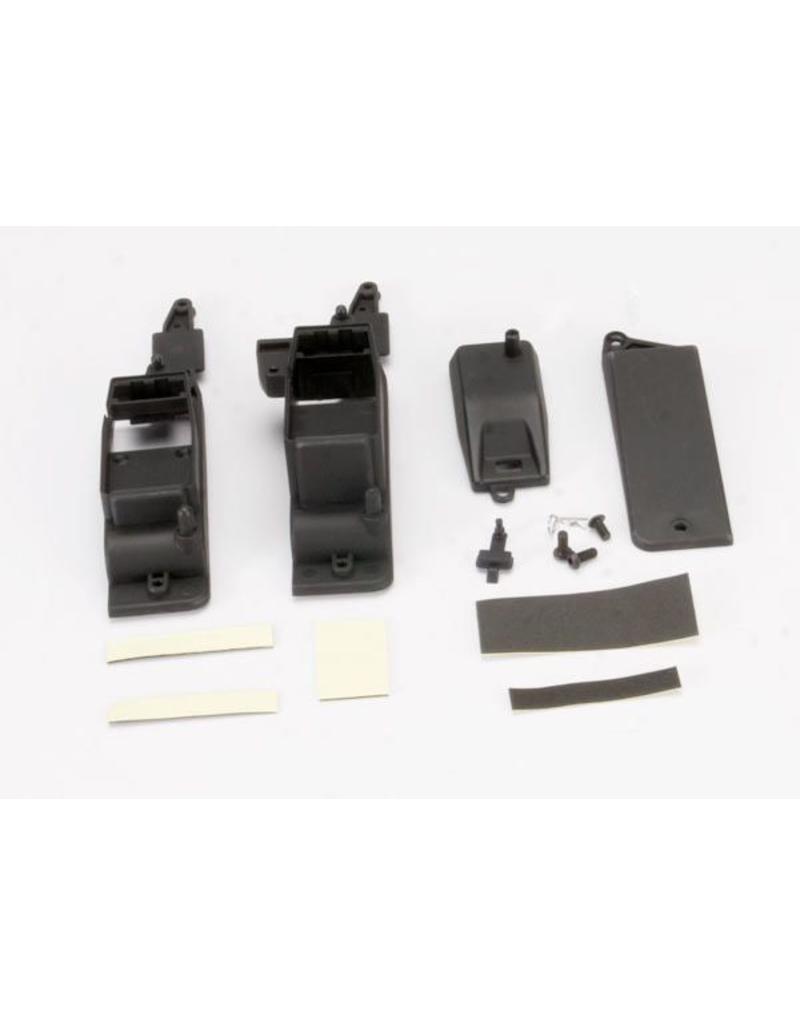 Traxxas Box, receiver & battery (2)/ cover/ foam pad & adhesive/ cha, TRX5324X