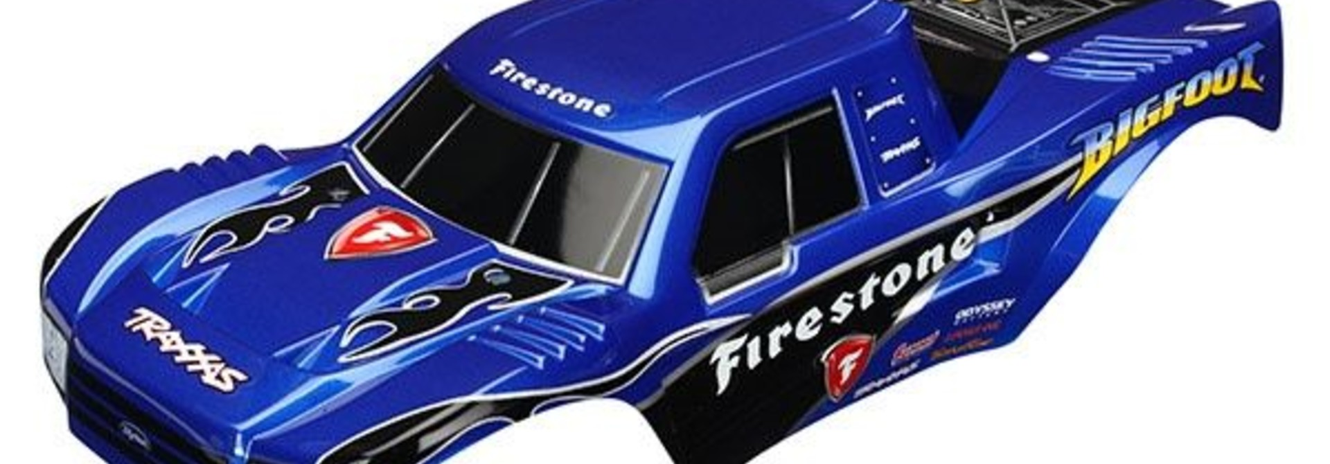 Body, Bigfoot Firestone, Offi cially Licensed replica painte, TRX3658