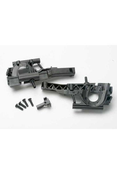 Bulkhead, front (L&R halves)/ diff retainer/ 4x14mm BCS (4), TRX5330