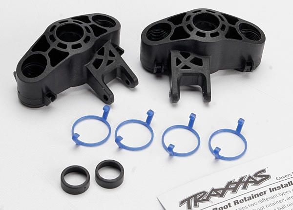 Axle carriers, left & right (1 each) (use with larger 6x13mm, TRX5334R-1