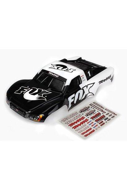 Body, Slash 4X4/Slash, Fox Edition (Painted, Decals Applied), TRX6849