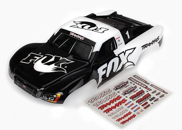 Body, Slash 4X4/Slash, Fox Edition (Painted, Decals Applied), TRX6849-1
