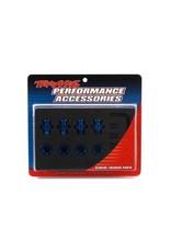 Traxxas Anodised alu 17mm hex adaptors, TRX6856X
