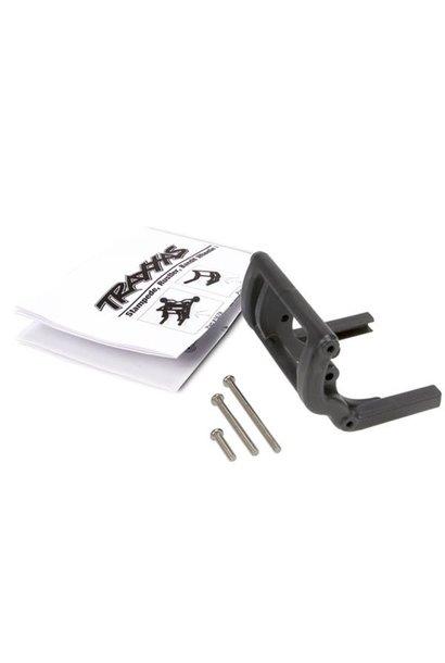 Wheelie bar mount (1)/ hardware (Stampede, Rustler, Bandit s, TRX3677
