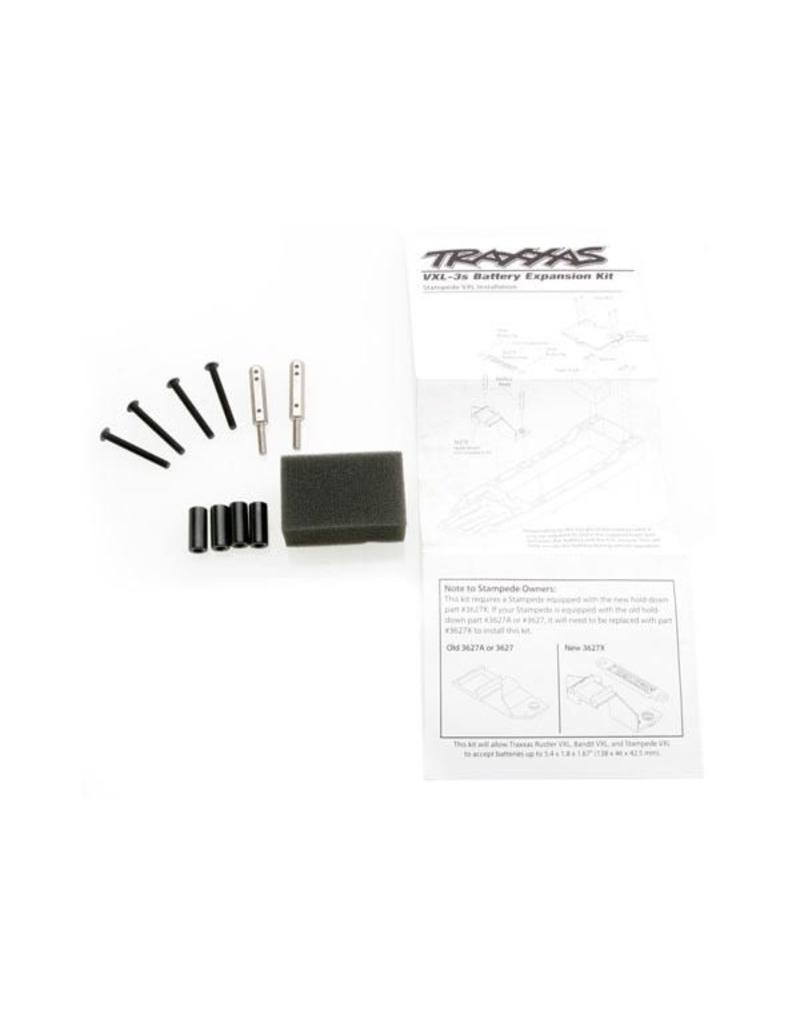Traxxas Battery expansion kit (allows for installation of taller mul, TRX3725X