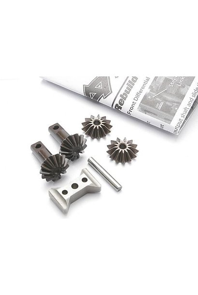 Gear set, differential (output gears (2)/ spider gears (2)/, TRX5382X