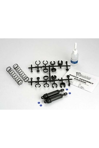 Ultra Shocks (black) (xx-long) (complete w/ spring pre-load, TRX3762