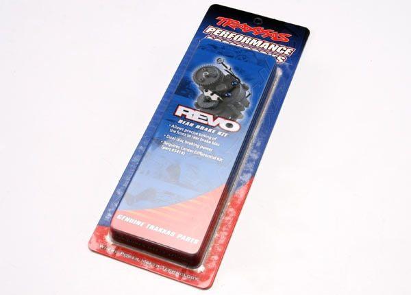 Brake kit, rear (dual-disc Revo) (Requires center differenti, TRX5417-1