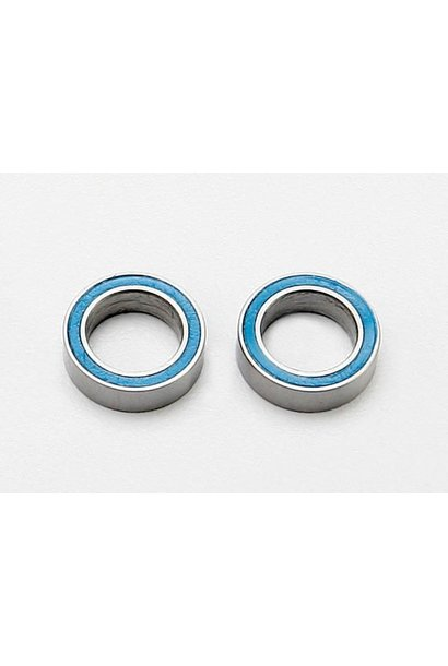 Ball bearings, blue rubber sealed (8x12x3.5mm) (2), TRX7020