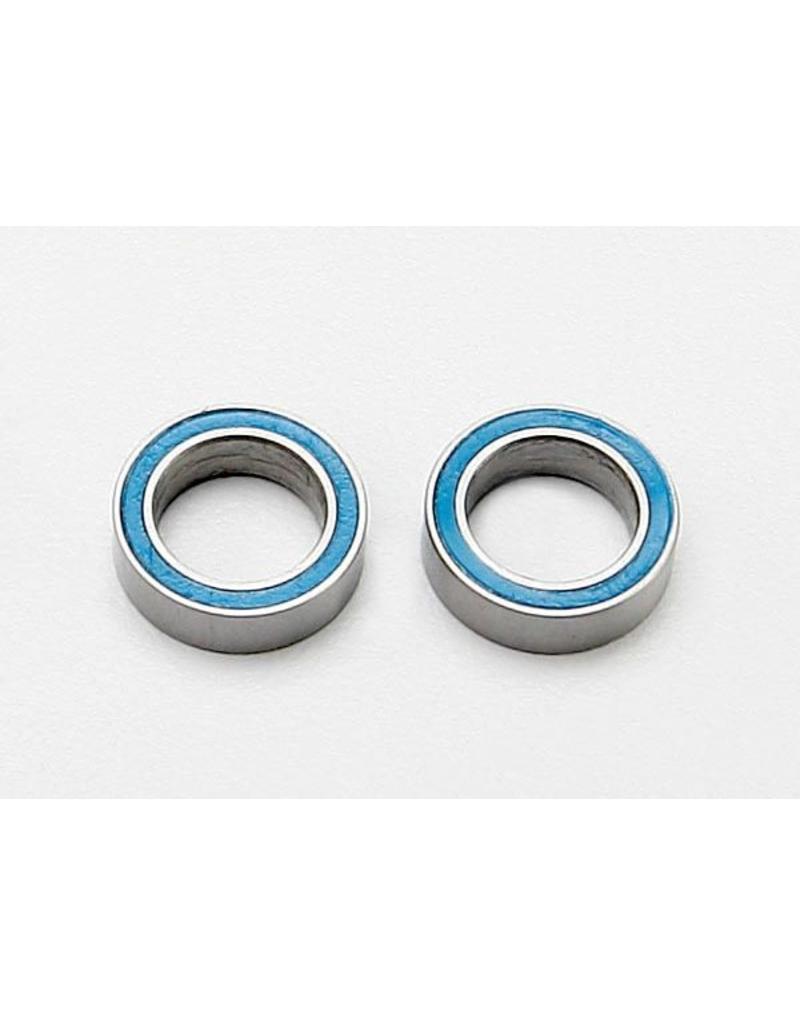Traxxas Ball bearings, blue rubber sealed (8x12x3.5mm) (2), TRX7020
