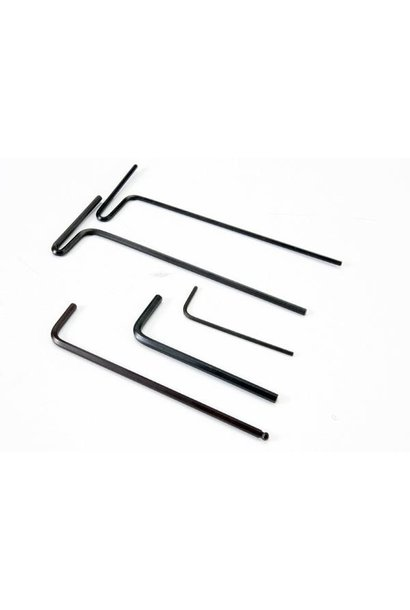 Hex wrenches, 1.5mm, 2mm, 2.5mm, 3mm, 2.5 ball, TRX5476X