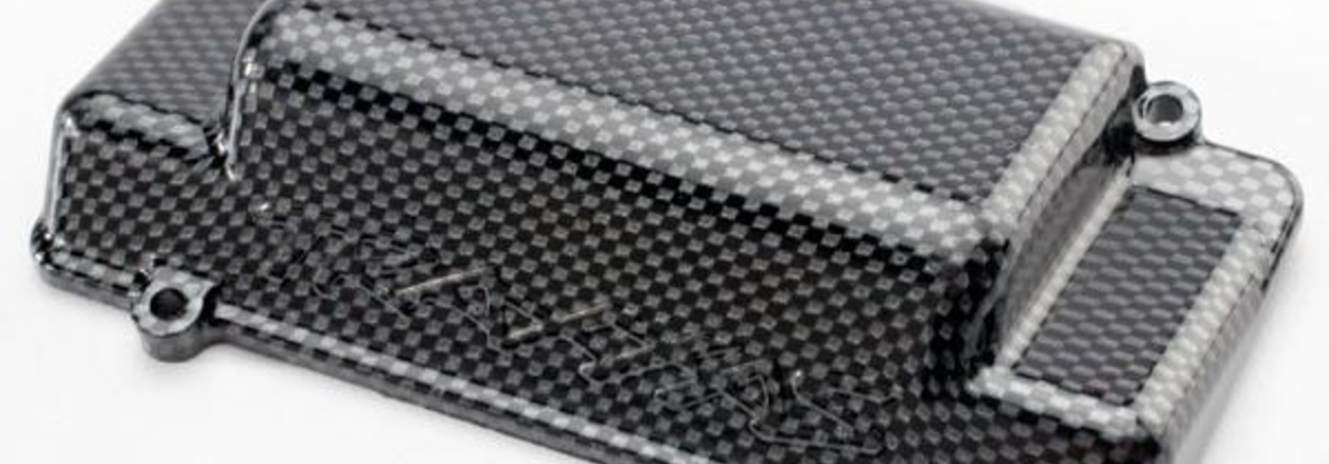 Battery Box Cover, bumper (rear), Exo-Carbon finish (Jato), TRX5515G