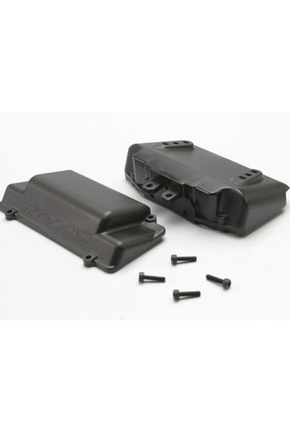 Battery Box, bumper (rear) (includes battery case with bosse, TRX5515X
