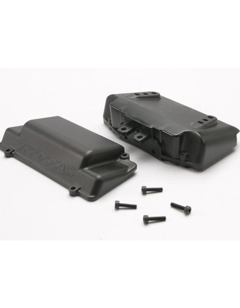 Traxxas Battery Box, bumper (rear) (includes battery case with bosse, TRX5515X