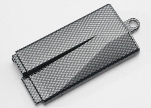 Battery cover (mid chassis), Exo-Carbon finish (Jato), TRX5523G-1