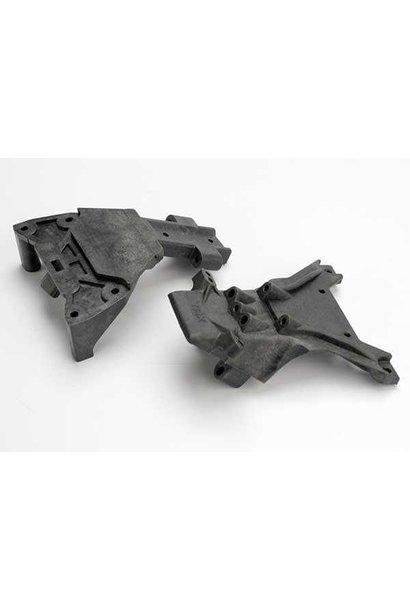Bulkheads, front (upper & lower), TRX5530