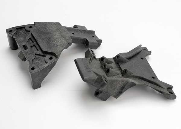 Bulkheads, front (upper & lower), TRX5530-1