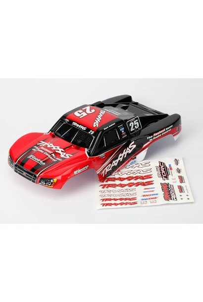 Body, Mark Jenkins #25, 1/16 Slash (painted, decals applied), TRX7084R