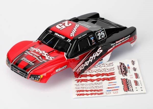 Body, Mark Jenkins #25, 1/16 Slash (painted, decals applied), TRX7084R-1