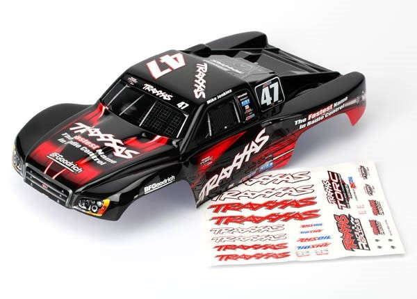 Body, Mike Jenkins #47, 1/16 Slash (painted, decals applied), TRX7085-1