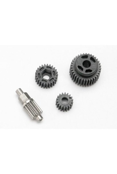 Gear set, transmission (includes 18T, 25T input gears, 13T i, TRX7093
