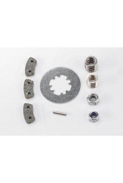Rebuild kit, slipper clutch (steel disc/ friction pads (3)/, TRX5552X