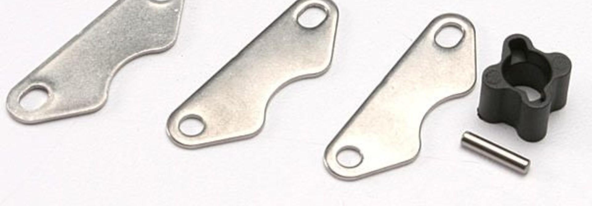 Brake disc hub (for Revo rear brake kit)/ 2mm pin (1)/ brake, TRX5565X