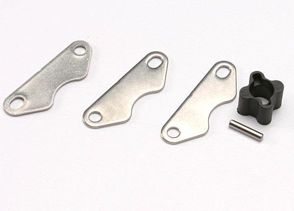 Brake disc hub (for Revo rear brake kit)/ 2mm pin (1)/ brake, TRX5565X-1
