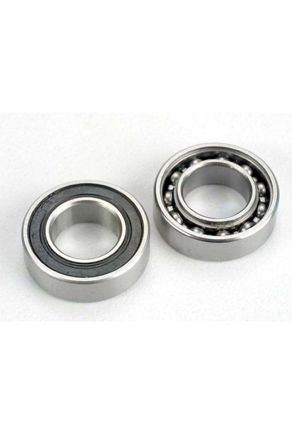 Ball Bearings, crankshaft, 9x17x5mm (front & rear) (2), TRX4023