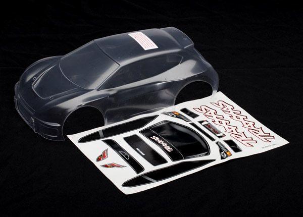 Body, Traxxas Rally (Clear), TRX7311-1