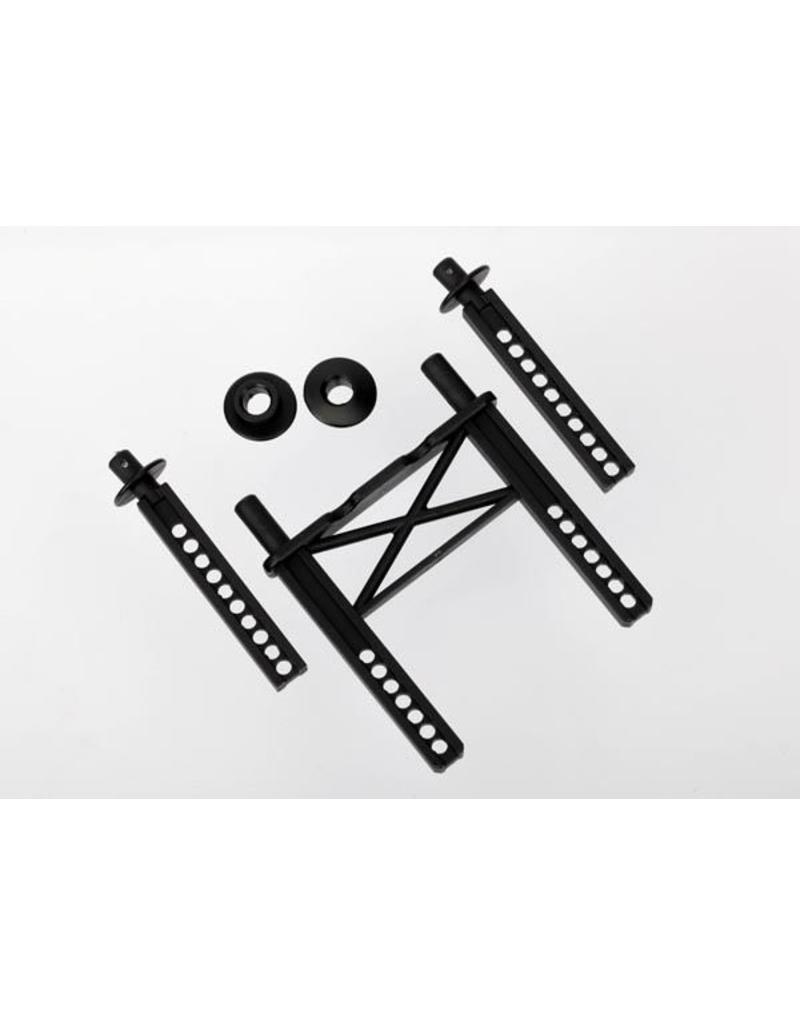 Traxxas Body mount, rear/ body mount posts, front (2)/ body washer,, TRX7314