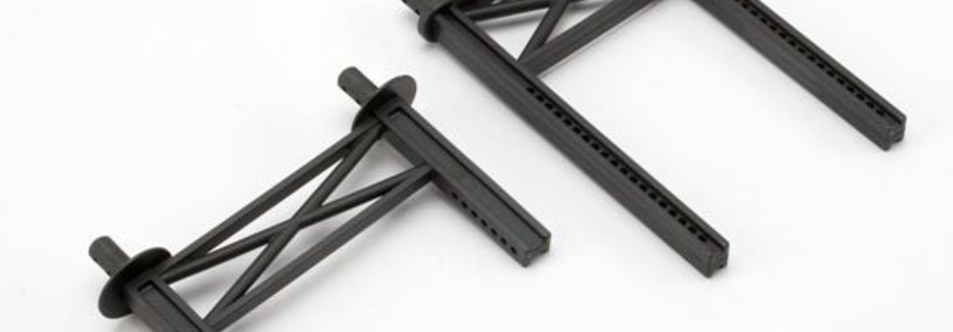 Body mount posts, front & rear (tall, for Summit), TRX5616